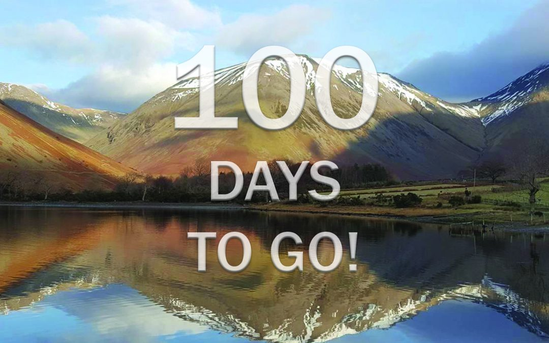 A 100 days to go to my 'Bob Graham Round' Challenge. 66 miles over 42 Summits within 24 hours