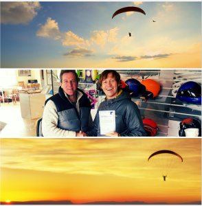 Gavin Sandford Founder of www.IcanandIwill.co.uk Charity Ambassador Athlete and Adventurer. Passed my Paragliding C.P Test 2017